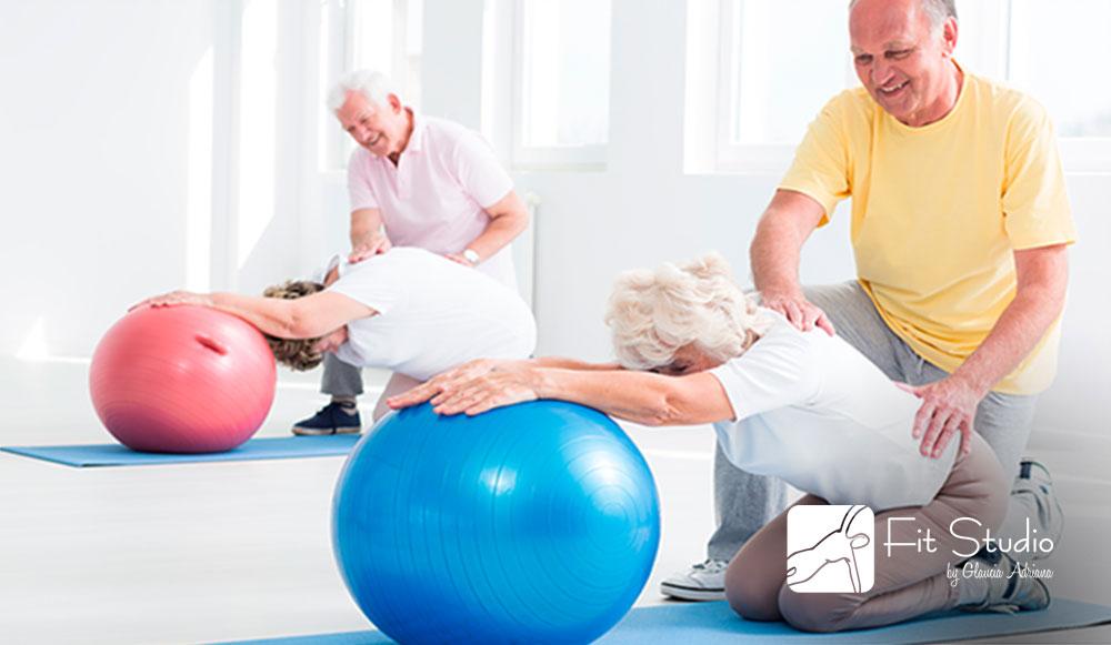 O Pilates vai atuar no alivio das dores, na agilidade e na resistência dos idosos